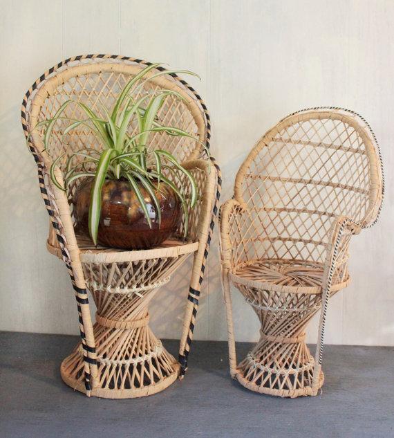 chaise en osier la mode aixoise