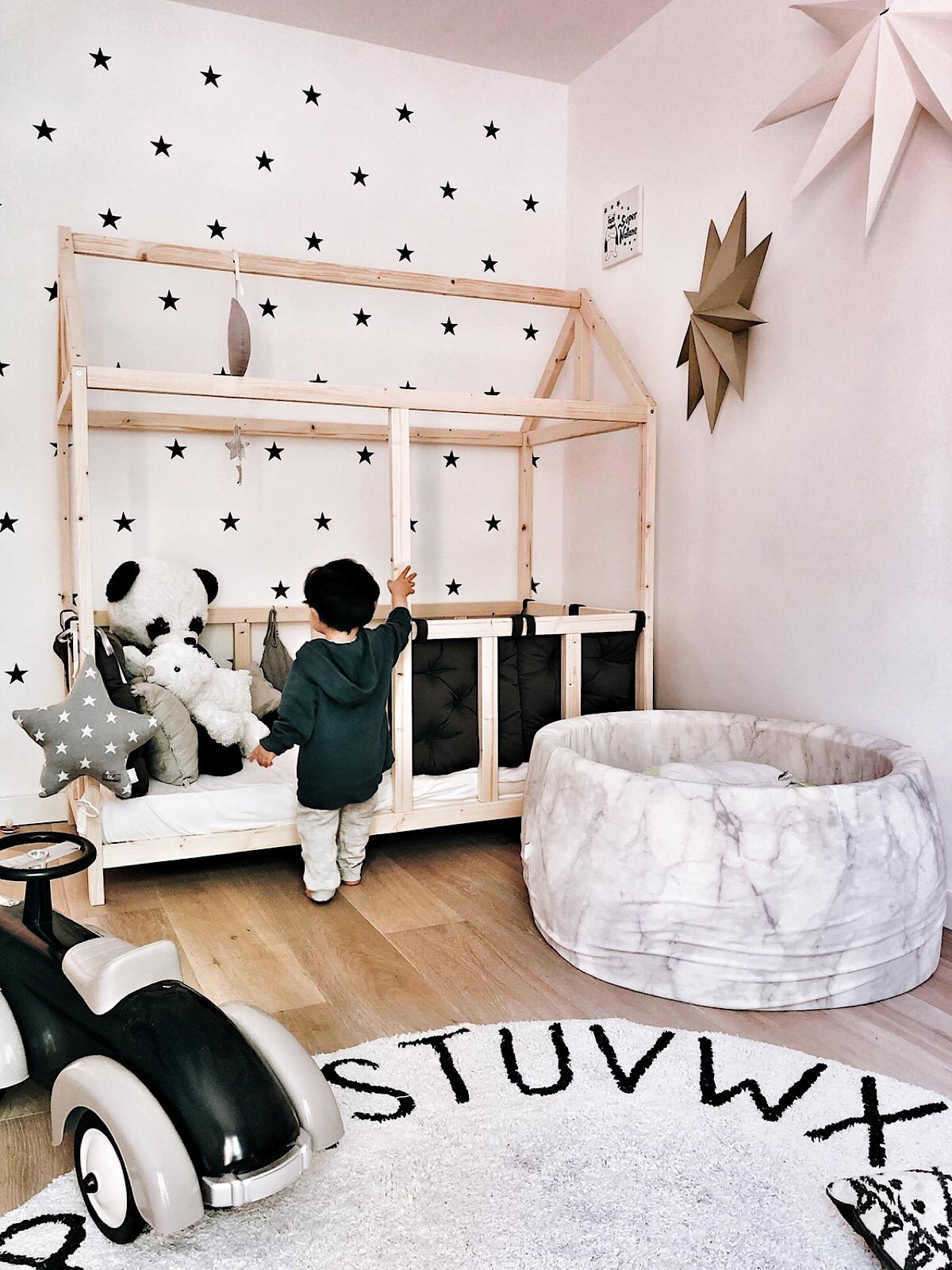 Fabriquer Lit Cabane Montessori passage au lit montessori - blog mode aix en provence