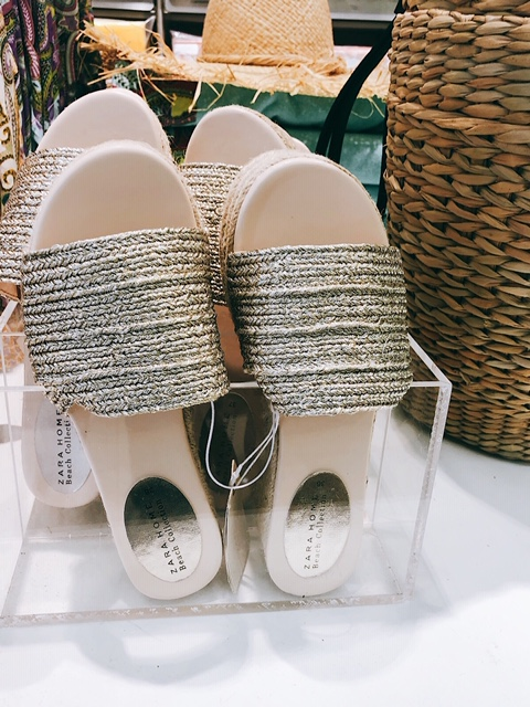 Sandales Zara Home